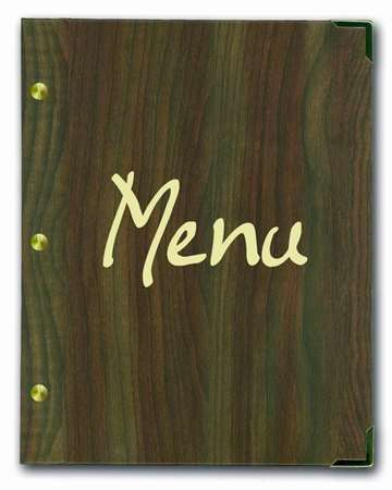 PORTE MENU AUTHENTIC BOIS FONCE