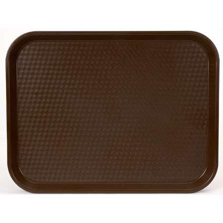 PLATEAU FAST FOOD 46X36 CM MARRON #